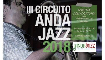 III Circuito Andajazz de Asociaciones Jazz de Andalucía · Abierta Convocatoria
